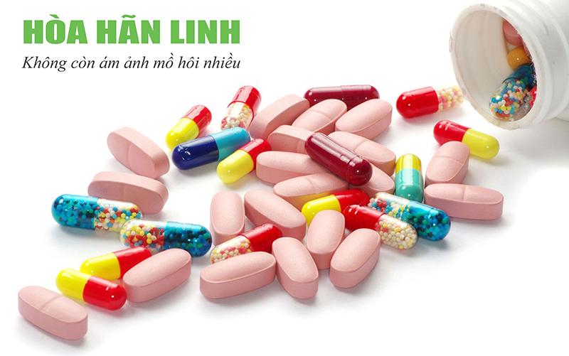 Trong tây y có rất nhiều nhóm thuốc trị ra mồ hôi nhiều